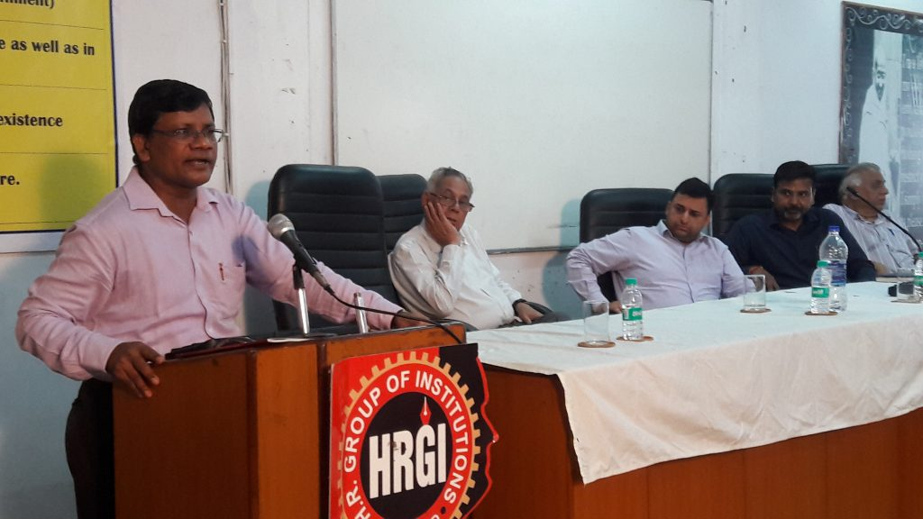 Addressing to HRIT Students