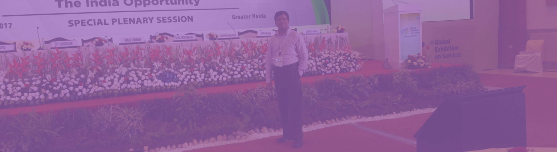 Participated – Global Exhibition on Services 2017